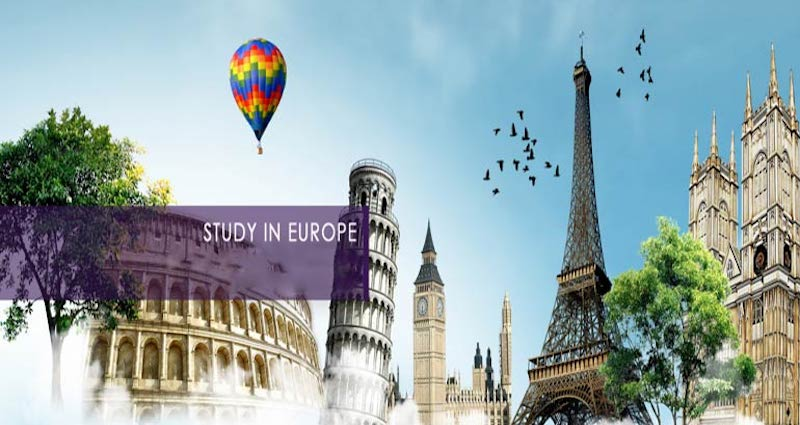 study in Europe poster