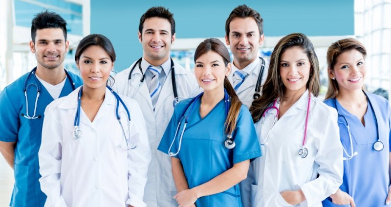image of medical students