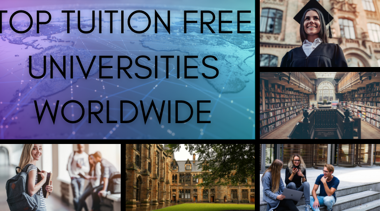 Top Tuition Free Universities in the World